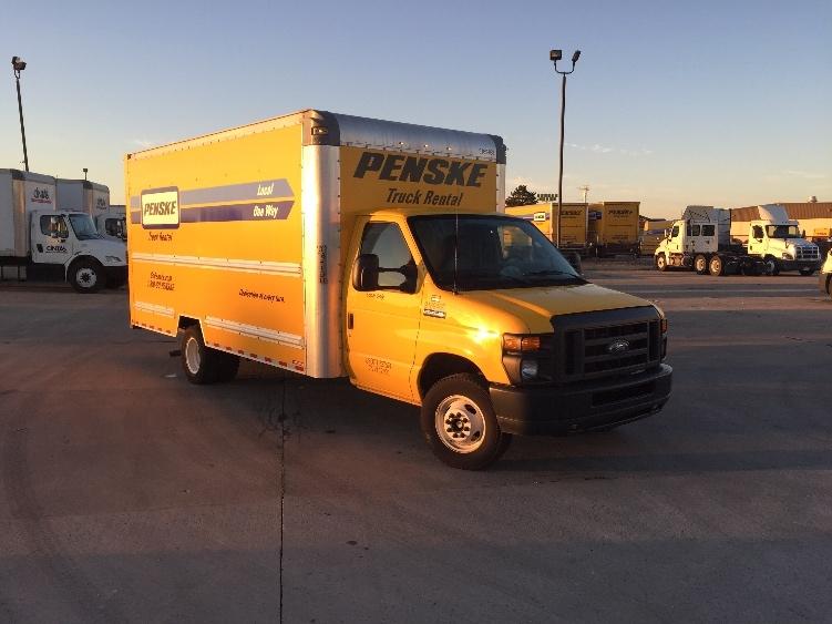 Light Duty Box Truck-Light and Medium Duty Trucks-Ford-2015-E350-COLUMBUS-OH-75,282 miles-$22,750