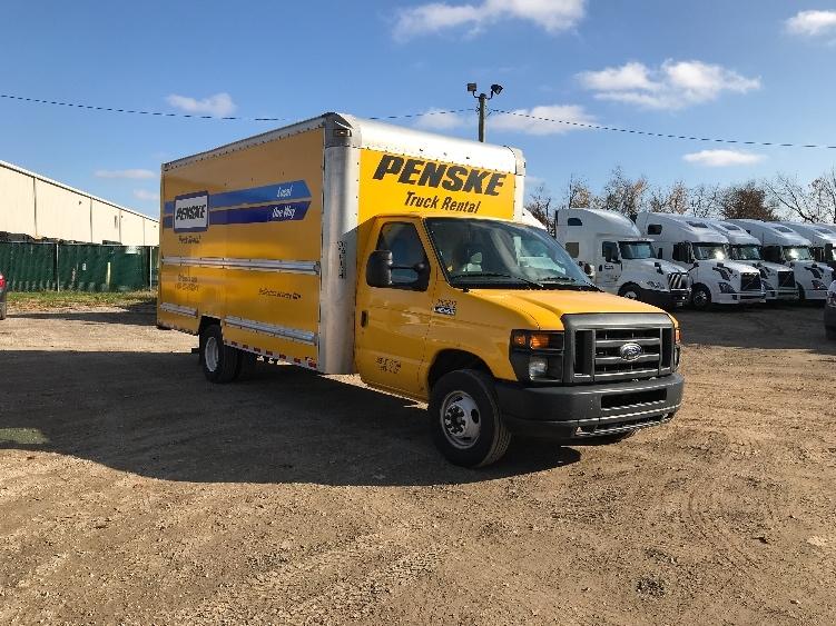 Light Duty Box Truck-Light and Medium Duty Trucks-Ford-2015-E350-EAST PEORIA-IL-66,961 miles-$23,000
