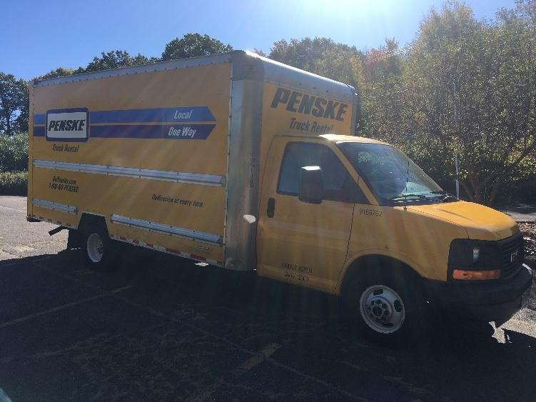 Light Duty Box Truck-Light and Medium Duty Trucks-GMC-2015-Savana G33903-WATERBURY-CT-60,198 miles-$23,750