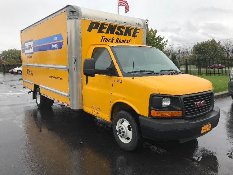 Light Duty Box Truck-Light and Medium Duty Trucks-GMC-2015-Savana G33903-BUFFALO-NY-80,379 miles-$22,000