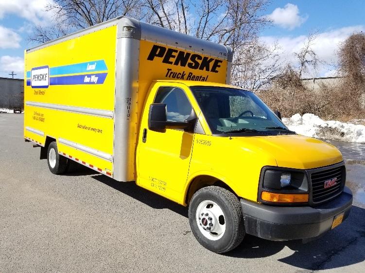 Light Duty Box Truck-Light and Medium Duty Trucks-GMC-2015-Savana G33903-ALBANY-NY-75,450 miles-$17,500