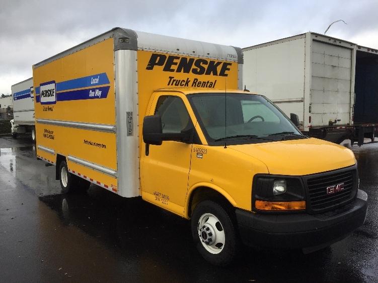 Light Duty Box Truck-Light and Medium Duty Trucks-GMC-2015-Savana G33903-WILSONVILLE-OR-70,378 miles-$23,000