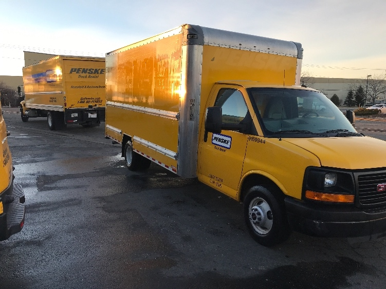 Light Duty Box Truck-Light and Medium Duty Trucks-GMC-2015-Savana G33903-BOISE-ID-141,005 miles-$12,000