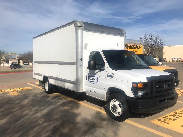 Light Duty Box Truck-Light and Medium Duty Trucks-Ford-2015-E350-CARROLLTON-TX-87,222 miles-$19,750
