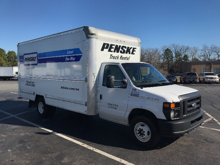 Light Duty Box Truck-Light and Medium Duty Trucks-Ford-2015-E350-LITTLE ROCK-AR-92,916 miles-$23,250