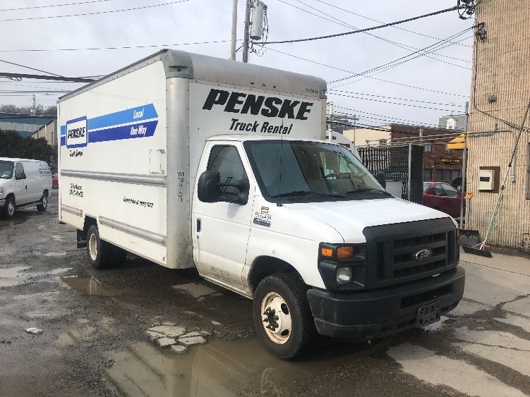 Light Duty Box Truck-Light and Medium Duty Trucks-Ford-2015-E350-NORTH BERGEN-NJ-67,816 miles-$25,750