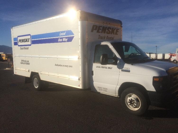 Light Duty Box Truck-Light and Medium Duty Trucks-Ford-2015-E350-COLORADO SPRINGS-CO-80,450 miles-$24,500