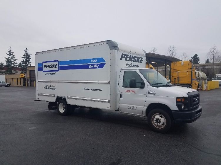 Light Duty Box Truck-Light and Medium Duty Trucks-Ford-2015-E350-KENT-WA-71,426 miles-$26,500