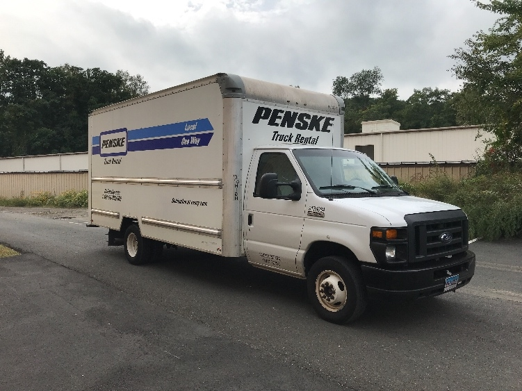 Light Duty Box Truck-Light and Medium Duty Trucks-Ford-2015-E350-WATERBURY-CT-93,717 miles-$17,250