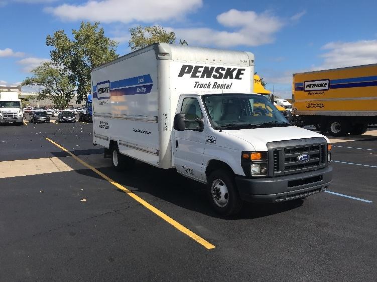 Light Duty Box Truck-Light and Medium Duty Trucks-Ford-2015-E350-ROMEOVILLE-IL-59,882 miles-$25,500