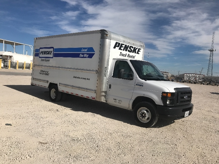 Light Duty Box Truck-Light and Medium Duty Trucks-Ford-2015-E350-AMARILLO-TX-75,047 miles-$25,000