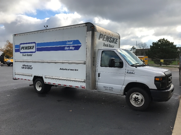 Light Duty Box Truck-Light and Medium Duty Trucks-Ford-2015-E350-ROMEOVILLE-IL-59,101 miles-$25,500
