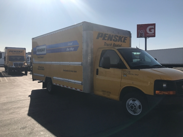 Light Duty Box Truck-Light and Medium Duty Trucks-GMC-2015-Savana G33903-TORRANCE-CA-62,332 miles-$25,500