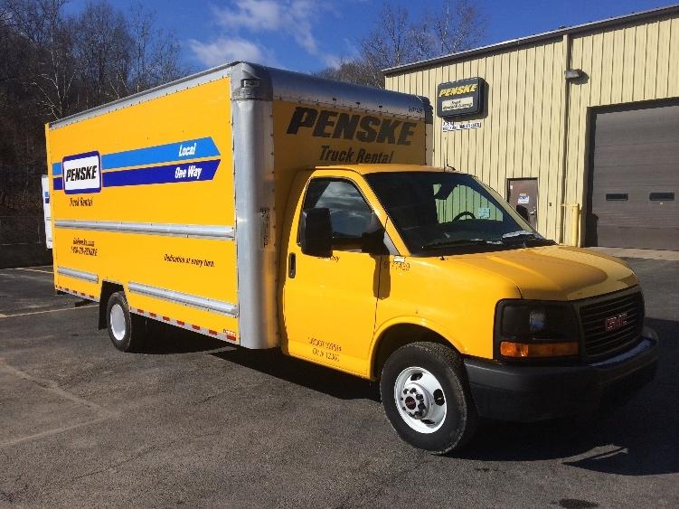 Light Duty Box Truck-Light and Medium Duty Trucks-GMC-2015-Savana G33903-HUNTINGTON-WV-93,652 miles-$20,750