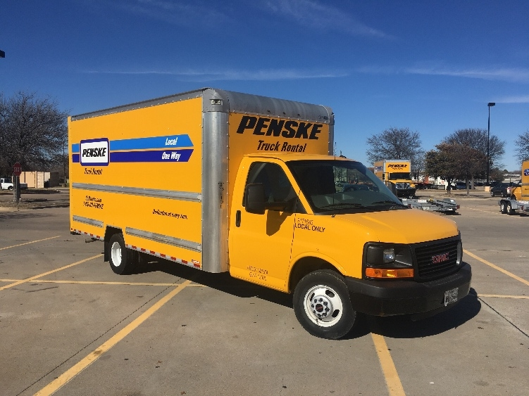 Light Duty Box Truck-Light and Medium Duty Trucks-GMC-2015-Savana G33903-FORT WORTH-TX-65,588 miles-$23,500