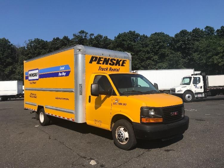 Light Duty Box Truck-Light and Medium Duty Trucks-GMC-2015-Savana G33903-EDISON-NJ-81,698 miles-$17,750
