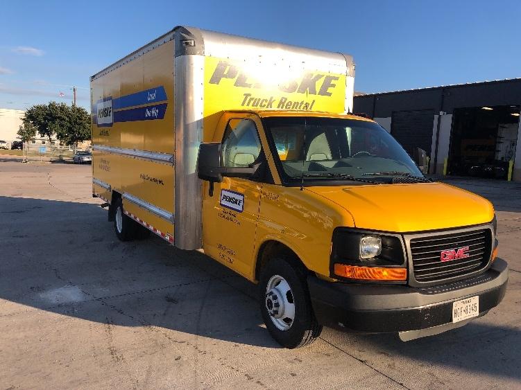 Light Duty Box Truck-Light and Medium Duty Trucks-GMC-2015-Savana G33903-GRAND PRAIRIE-TX-90,291 miles-$21,000