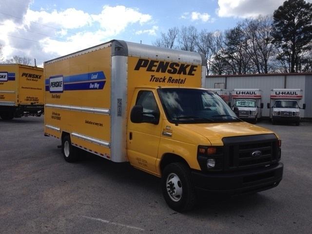 Light Duty Box Truck-Light and Medium Duty Trucks-Ford-2015-E350-DALTON-GA-64,665 miles-$23,250