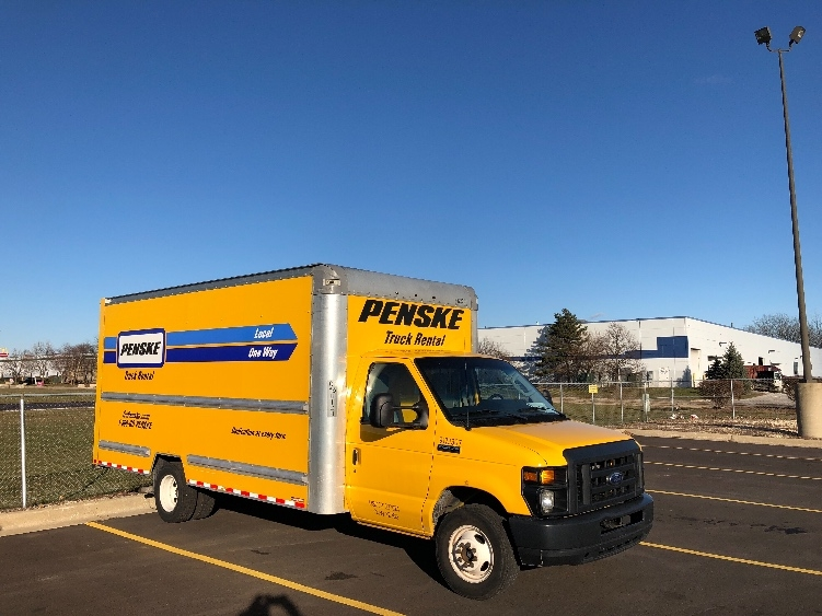 Light Duty Box Truck-Light and Medium Duty Trucks-Ford-2015-E350-ROMEOVILLE-IL-79,096 miles-$21,750