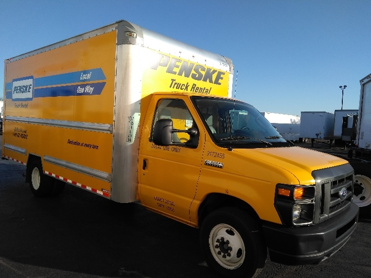 Light Duty Box Truck-Light and Medium Duty Trucks-Ford-2015-E350-TULSA-OK-58,096 miles-$23,750