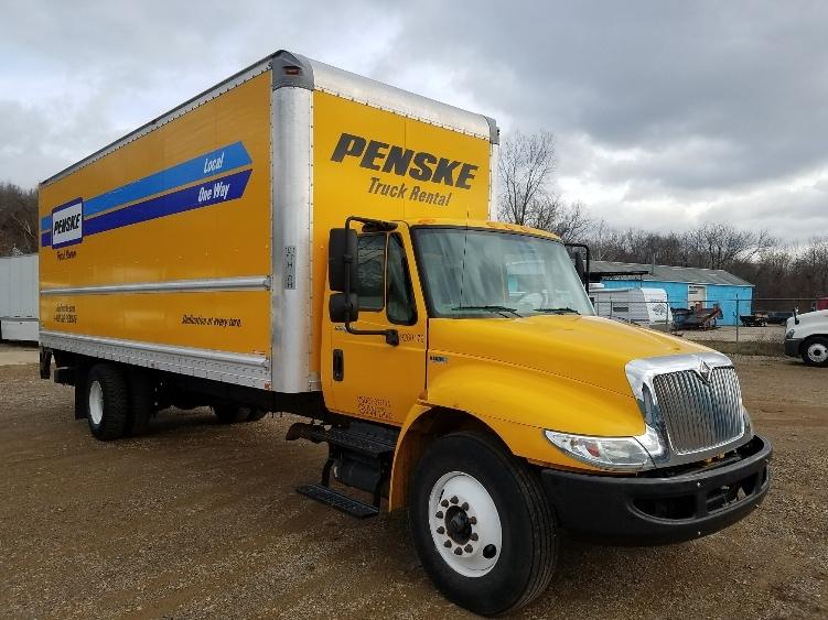 Medium Duty Box Truck-Light and Medium Duty Trucks-International-2013-4300-KALAMAZOO-MI-154,929 miles-$28,000