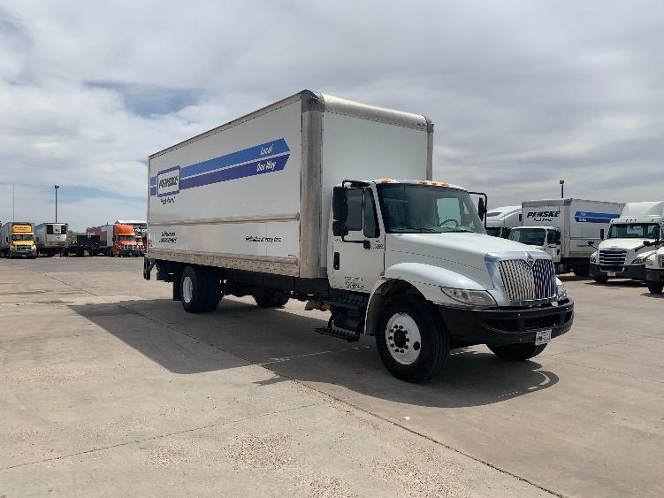 Medium Duty Box Truck-Light and Medium Duty Trucks-International-2014-4300-LUBBOCK-TX-241,055 miles-$23,500