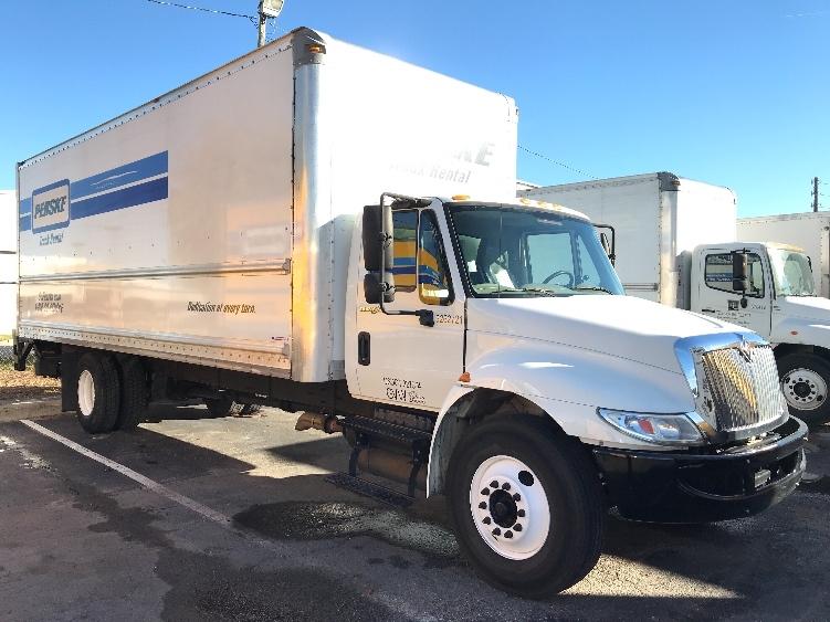Medium Duty Box Truck-Light and Medium Duty Trucks-International-2014-4300-EARTH CITY-MO-164,352 miles-$30,750