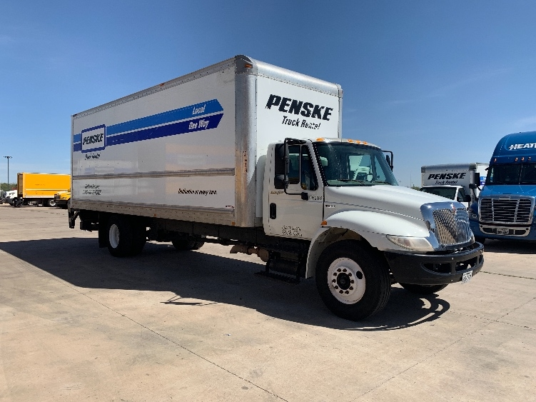 Medium Duty Box Truck-Light and Medium Duty Trucks-International-2014-4300-LUBBOCK-TX-161,508 miles-$32,500