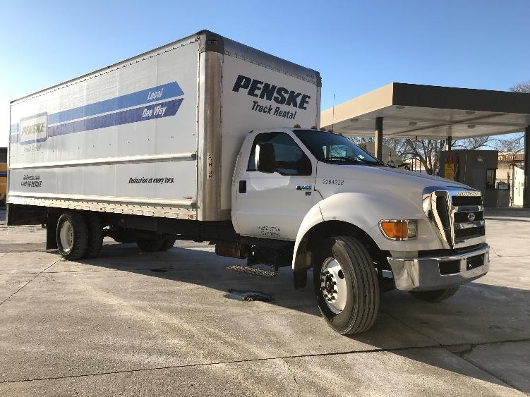 Medium Duty Box Truck-Light and Medium Duty Trucks-Ford-2015-F650-OMAHA-NE-144,005 miles-$26,500