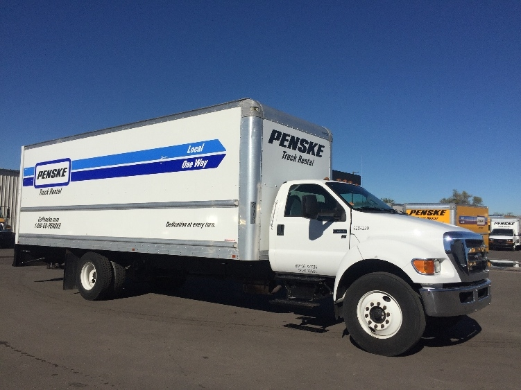 Medium Duty Box Truck-Light and Medium Duty Trucks-Ford-2015-F650-TUCSON-AZ-135,317 miles-$28,250
