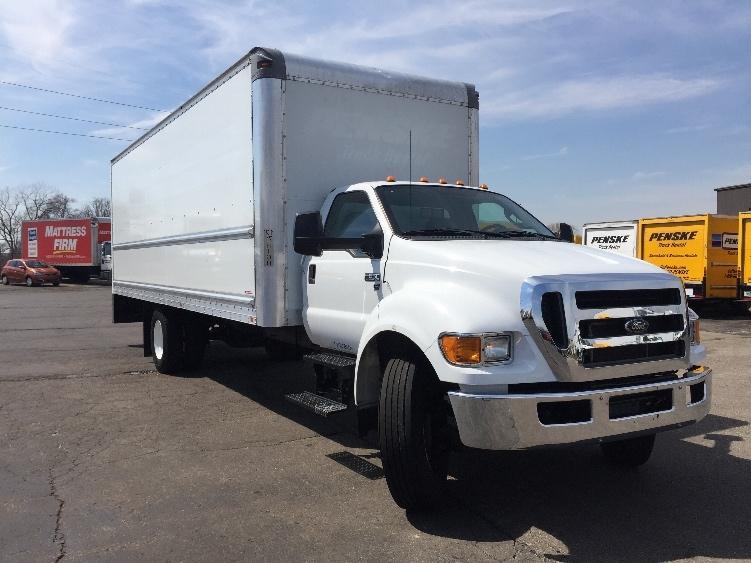 Medium Duty Box Truck-Light and Medium Duty Trucks-Ford-2015-F650-KENTWOOD-MI-110,223 miles-$36,250