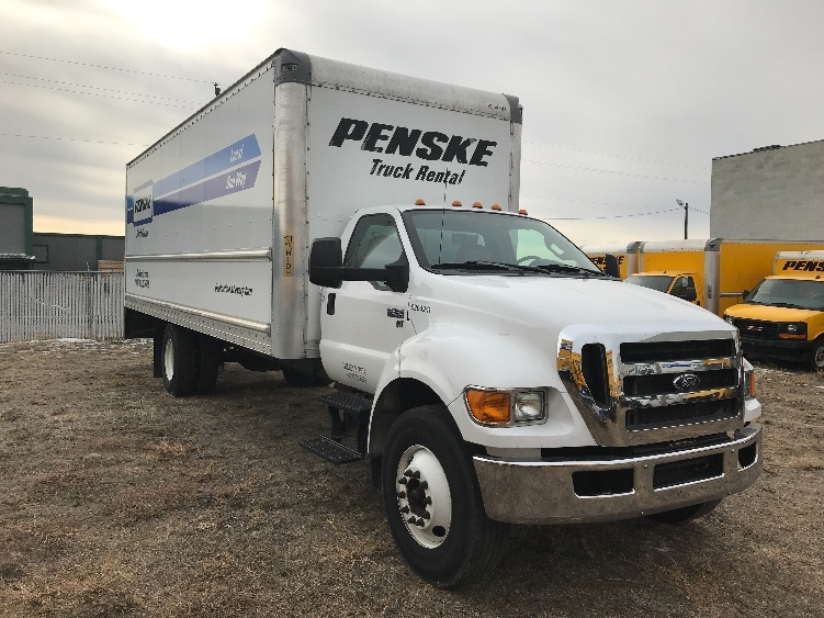 Medium Duty Box Truck-Light and Medium Duty Trucks-Ford-2015-F650-WEST VALLEY CITY-UT-170,555 miles-$23,500