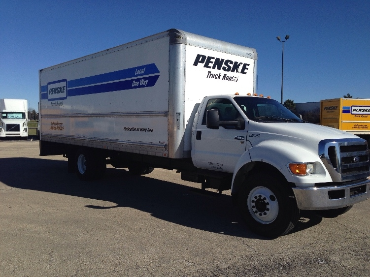 Medium Duty Box Truck-Light and Medium Duty Trucks-Ford-2015-F650-ROMEOVILLE-IL-100,025 miles-$49,500