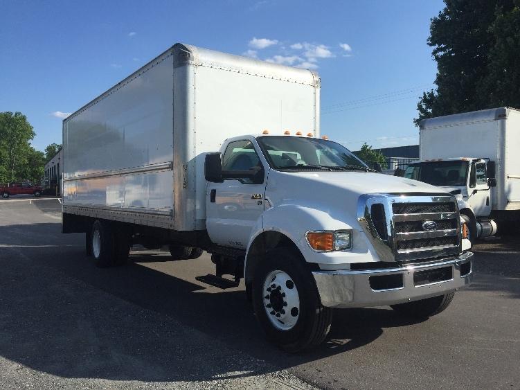 Medium Duty Box Truck-Light and Medium Duty Trucks-Ford-2015-F650-CHARLOTTE-NC-128,250 miles-$31,750
