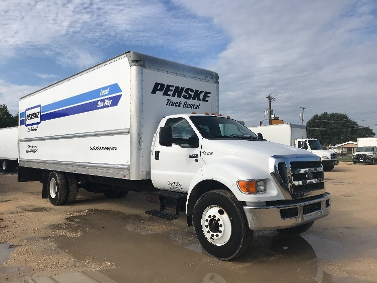 Medium Duty Box Truck-Light and Medium Duty Trucks-Ford-2015-F650-SAN ANTONIO-TX-136,692 miles-$27,250