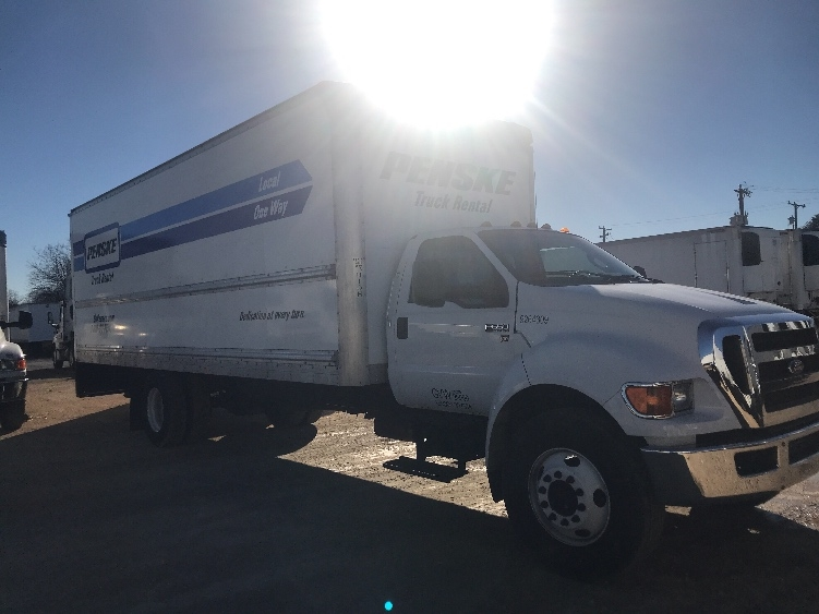 Medium Duty Box Truck-Light and Medium Duty Trucks-Ford-2015-F650-SAN ANTONIO-TX-127,042 miles-$29,750