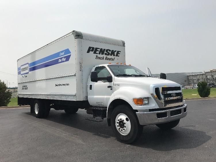 Medium Duty Box Truck-Light and Medium Duty Trucks-Ford-2015-F650-OKLAHOMA CITY-OK-137,758 miles-$33,000