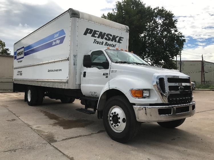 Medium Duty Box Truck-Light and Medium Duty Trucks-Ford-2015-F650-HOUSTON-TX-132,079 miles-$33,750