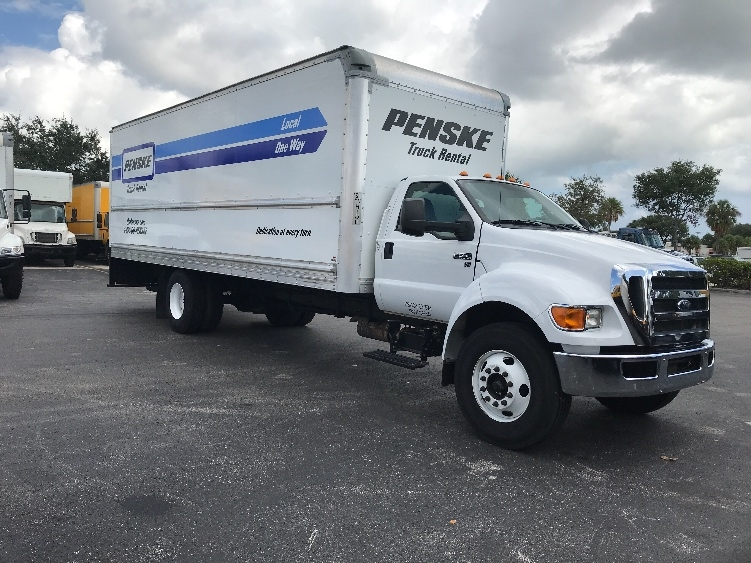 Medium Duty Box Truck-Light and Medium Duty Trucks-Ford-2015-F650-RIVIERA BEACH-FL-141,077 miles-$32,750