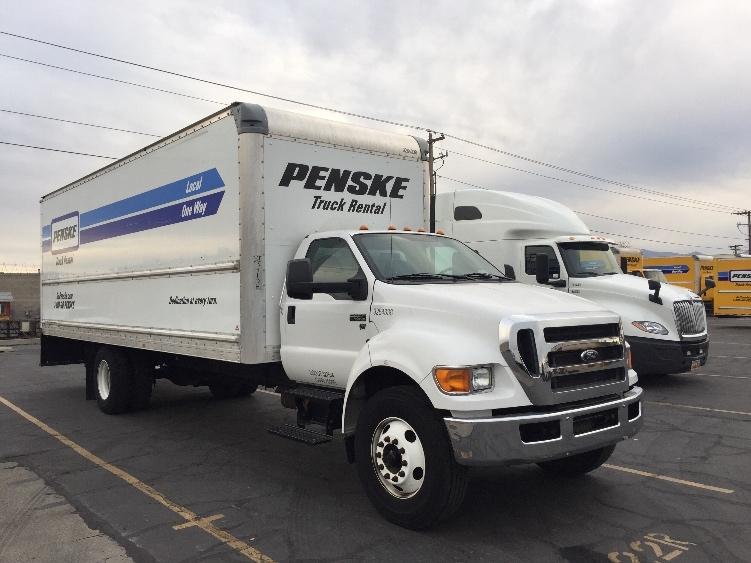 Medium Duty Box Truck-Light and Medium Duty Trucks-Ford-2015-F650-WEST VALLEY CITY-UT-106,764 miles-$45,250