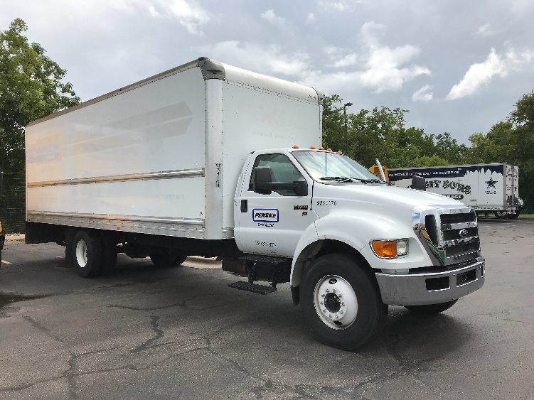 Medium Duty Box Truck-Light and Medium Duty Trucks-Ford-2015-F650-AUSTIN-TX-119,000 miles-$35,250