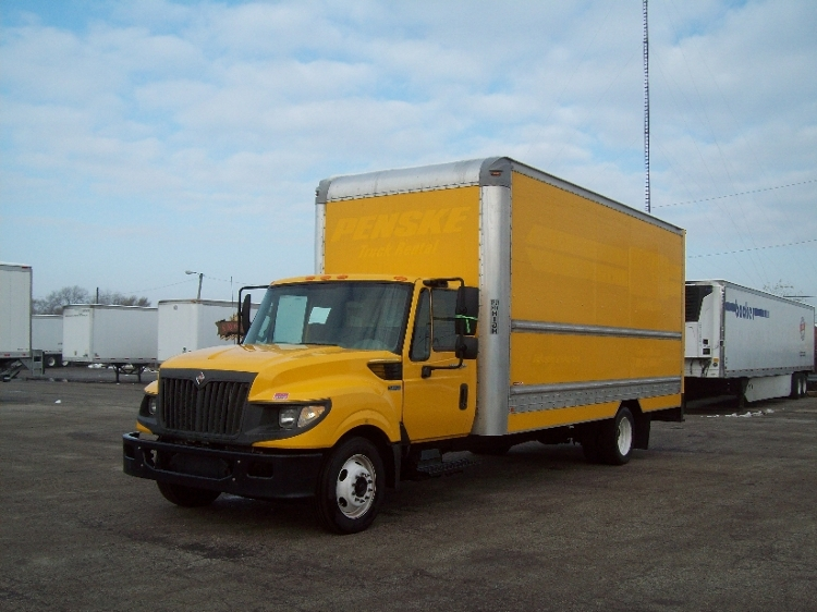 Medium Duty Box Truck-Light and Medium Duty Trucks-International-2012-TERASTAR-STICKNEY-IL-153,705 miles-$9,000