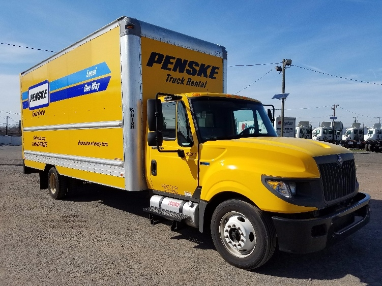 Medium Duty Box Truck-Light and Medium Duty Trucks-International-2012-TERASTAR-LINDEN-NJ-157,893 miles-$15,500