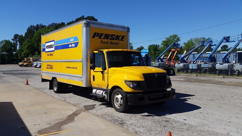 Medium Duty Box Truck-TRUCK-International-2012-TERASTAR-LONGVIEW-TX-145,652 miles-$20,500