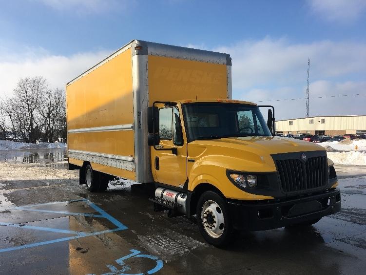 Medium Duty Box Truck-Light and Medium Duty Trucks-International-2012-TERASTAR-GOSHEN-IN-132,530 miles-$17,750