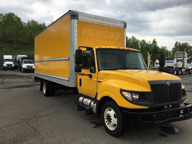 Medium Duty Box Truck-Light and Medium Duty Trucks-International-2014-TERASTAR-BINGHAMTON-NY-148,046 miles-$6,500