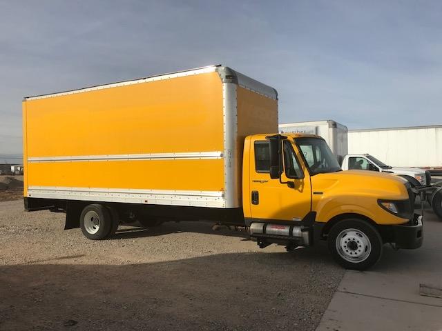 Medium Duty Box Truck-Light and Medium Duty Trucks-International-2014-TERASTAR-AMARILLO-TX-123,445 miles-$6,000