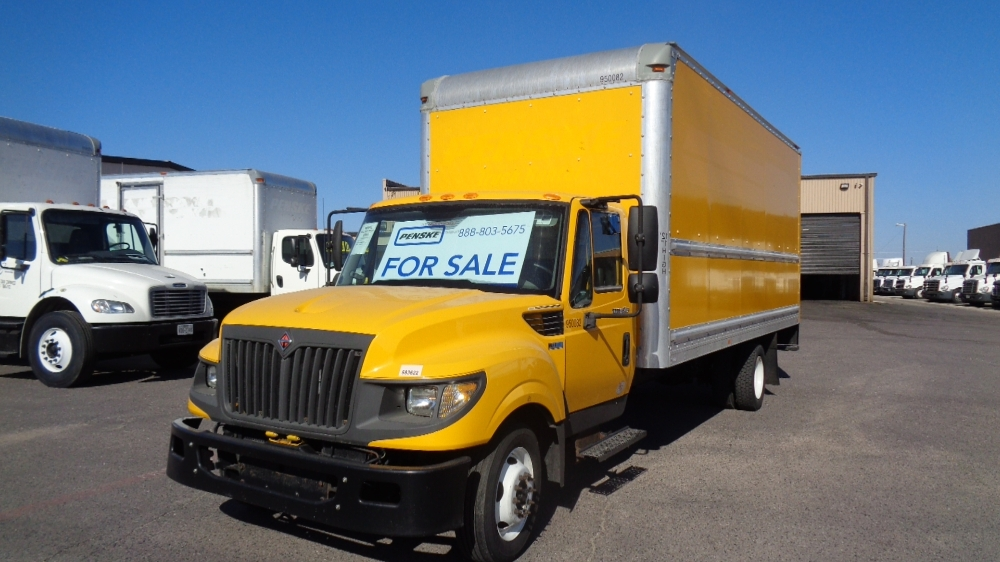 Medium Duty Box Truck-Light and Medium Duty Trucks-International-2014-TERASTAR-DALLAS-TX-148,061 miles-$27,250