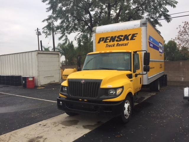 Medium Duty Box Truck-Light and Medium Duty Trucks-International-2014-TERASTAR-RIVERSIDE-CA-148,375 miles-$9,000