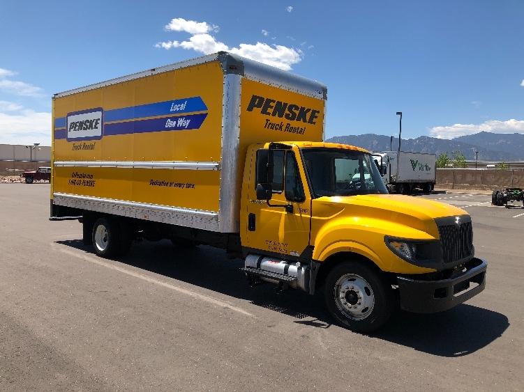 Medium Duty Box Truck-Light and Medium Duty Trucks-International-2014-TERASTAR-COLORADO SPRINGS-CO-154,408 miles-$17,500